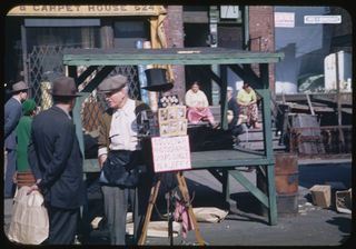 Maxwell Street Scene