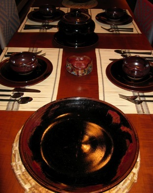 Margie Skaggs Table Setting