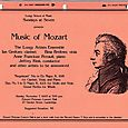 Music of Mozart Longy Artists Ensemble