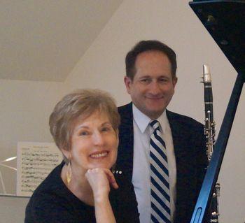 Anne Franciose Perrault and Mark Crociati