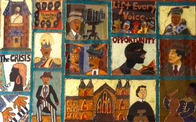 Robin Miller Civil Rights Quilt Detail