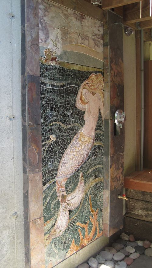 Mermaid by Laura Baksa Installed