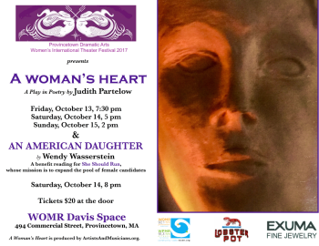 A Woman's Heart Provincetown 10:13-15 Incl Sponsors