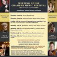 Meeting House Chamber Music Festival 2015 Season