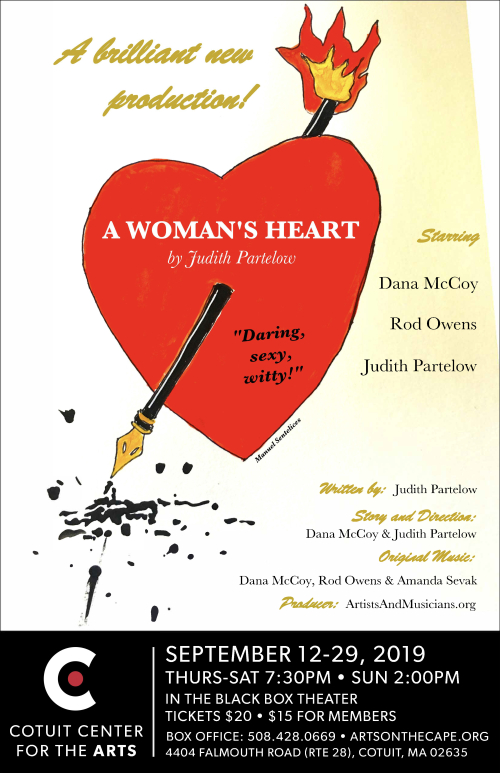 2019 A Womans Heart Poster Cotuit