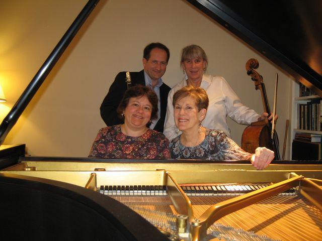 Anne Franciose Perrault, Joan Kirchner, Elizabeth Schultz, Mark Crociati