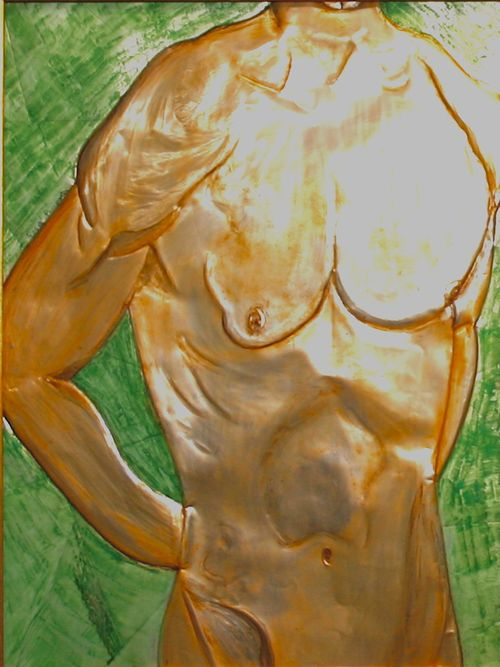 Expressions of Life  _Divine Creation II_ ciselage 25_x30_ 2003 Rosa Maria Pimenta  (3)