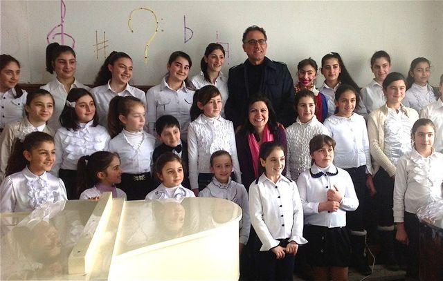 Anna Mikaelian Meschian at Talin Music School