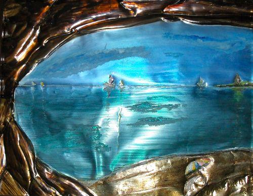 Oceanic _Mystery of Nature_  ciselage         13_ x 16_ 2007 Rosa Maria Pimenta    (3)